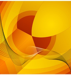 Abstract decorative background composition vector image
