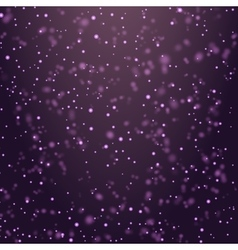 Christmas magic glittering vector