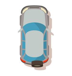 Jeep icon cartoon style vector