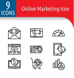 Online market icon2 vector