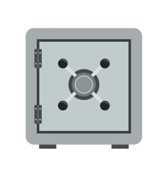 Safe box icon vector image
