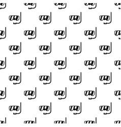 scuba mask pattern seamless vector image