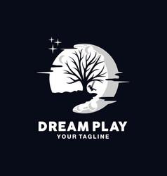 tree logo design template idea vector image