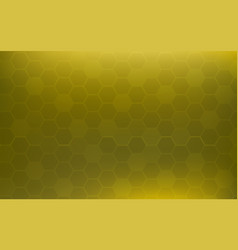 yellow honeycomb abstract background wallpaper vector image