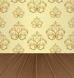 empty interior vector image