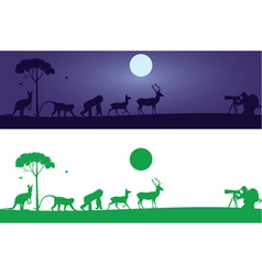 Animals Wall Decal vector image vector image