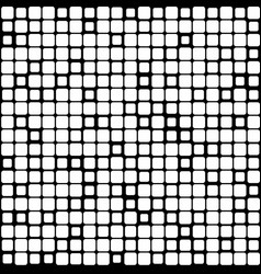 background of black white mosaic vector image