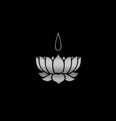 Ayyavazhi Religion-lotus carrying namam vector image vector image