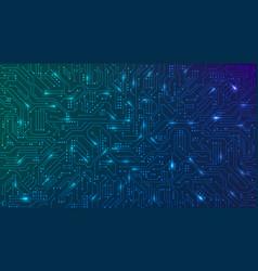 Abstract futuristic circuit board high computer vector