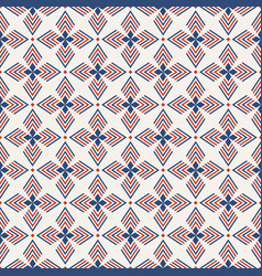 abstract geometric seamless pattern regularly vector image