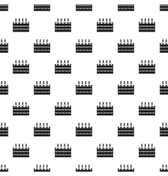 Box of beer pattern simple style vector image