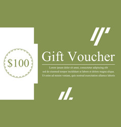 Collection stock gift voucher design vector
