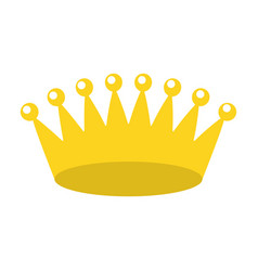 Crown royalty jewelry vector