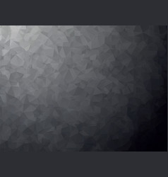 finely detailed black geometric background vector image