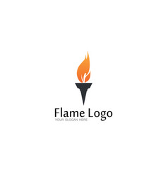 fire champion logo vector image