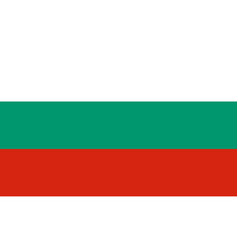 Flag in colors of bulgaria image vector