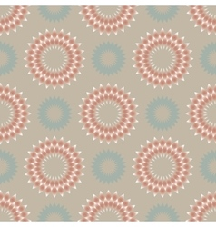Floral seamless pattern in light colors vector