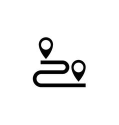 gps location icon vector image