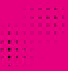 halftone on a pink background stylish comic book vector image