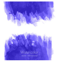 navy blue indigo watercolor texture vector image