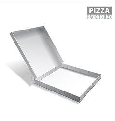pizzza box vector image
