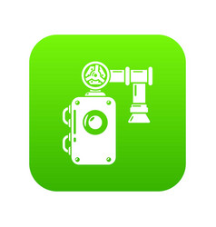 Pump icon simple style vector