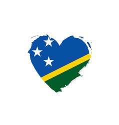 Solomon islands flag vector