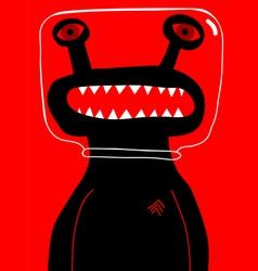 alien sergeant vector image vector image