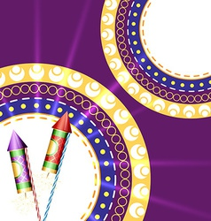 festival crackers vector image