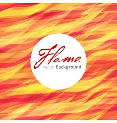 flame fire background vector image