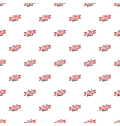 Label special price pattern cartoon style vector image vector image