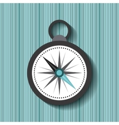 compass device travel icon vector image