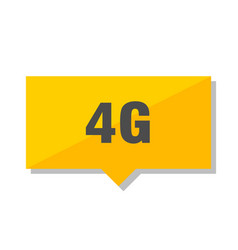 4g price tag vector