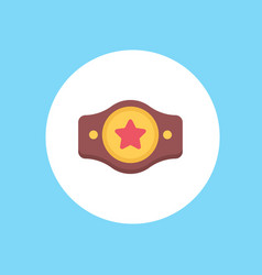 Champion belt icon sign symbol vector