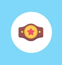 champion belt icon sign symbol vector image