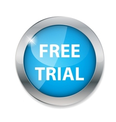 Free trial button vector image