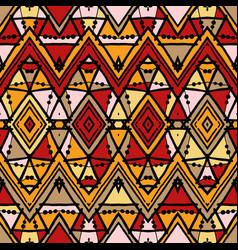geometric decorative seamless pattern vector image