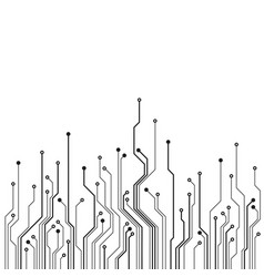 hardware communication concept circuit board vector image