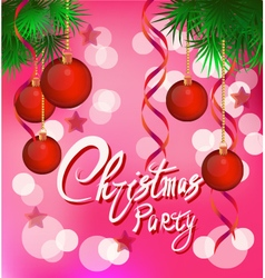 I Wish You A Merry Christmas And Happy New Year Ve vector image