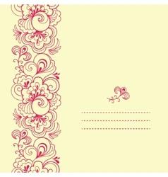 Vertical seamless pattern vector