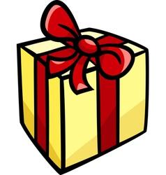 christmas or birthday gift clip art vector image