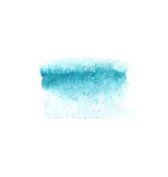 Abstract watercolor blue texture isolated vector