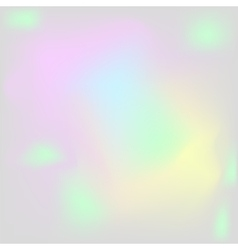 Holographic pearl background Iridescent hologram vector image