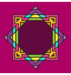 Geometric frame vector