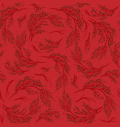 Nature branch pattern-06 vector
