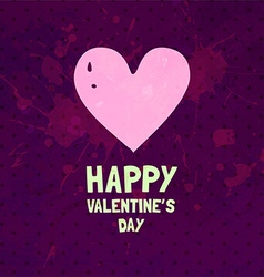 Romantic Valentines Card vector
