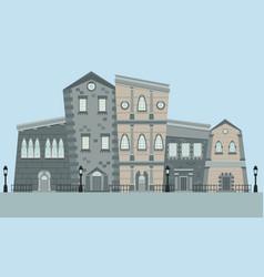 street english town vector image