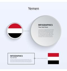 Yemen Country Set of Banners vector