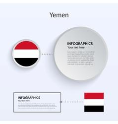 Yemen Country Set of Banners vector image