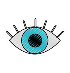 eye business look vision concept vector image